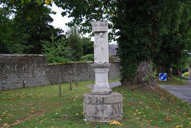 Monument, entrance to The Friary