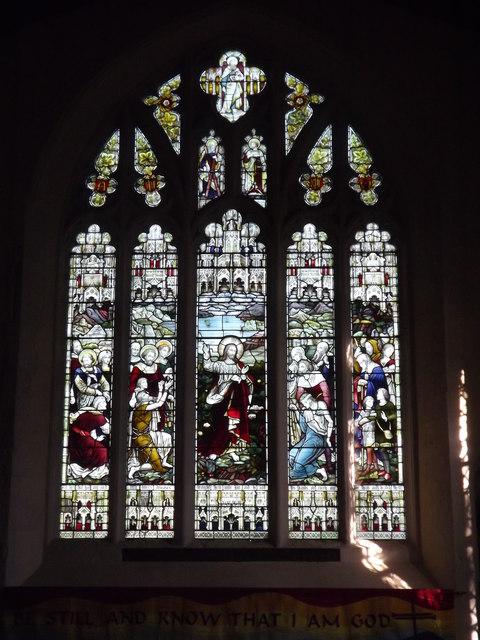 Alton Church, East Window