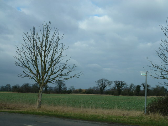Footpath to Toneham Farm near Thorney