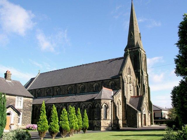 St Wilfrid RC Derby Road Longridge