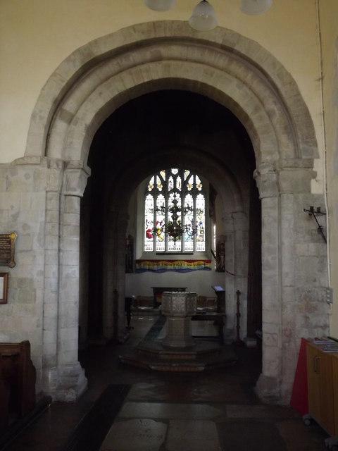 South Aisle, Alton Church