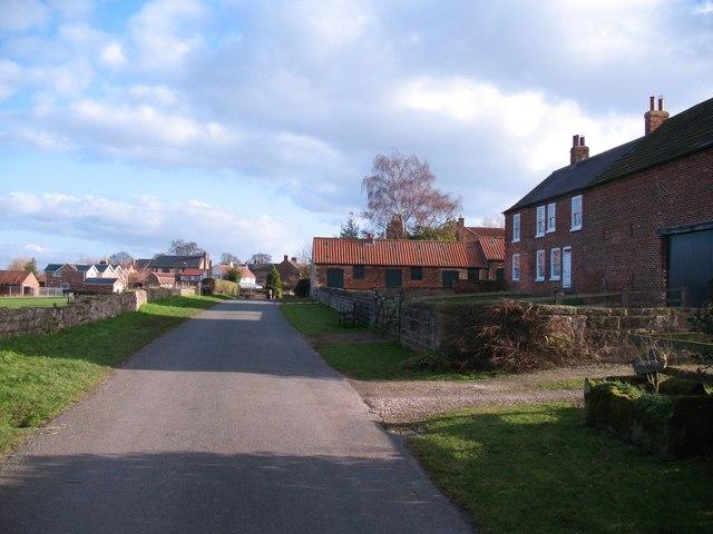 Bickerton village - west end