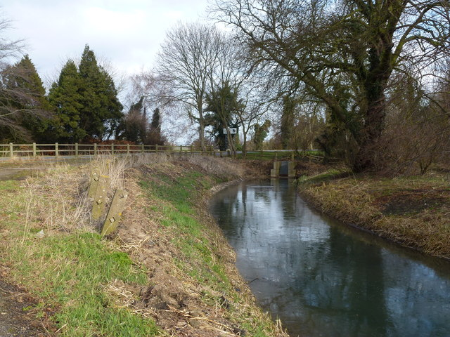 Thorney River near The Causeway