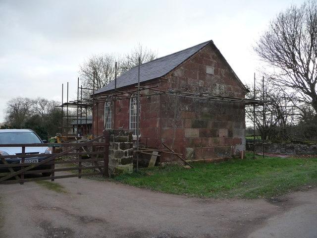Old Primitive Methodist chapel in Webscott