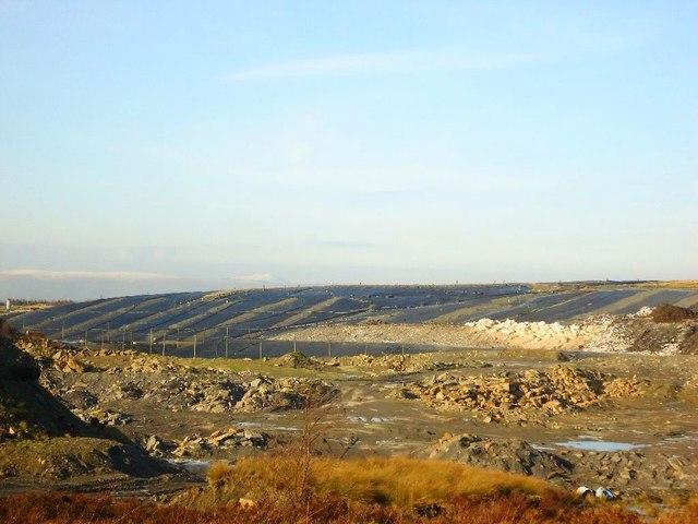 Greengairs landfill site