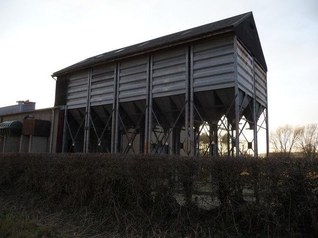 Farm building at Merrington Lane Farm, near Merrington
