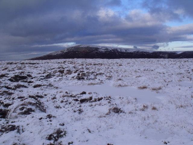 Broad ridge north-east of An Lurg near Glenmore