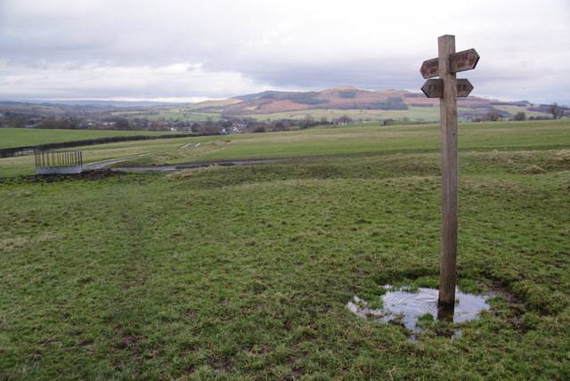 The Pennine Way on Scaleber Hill