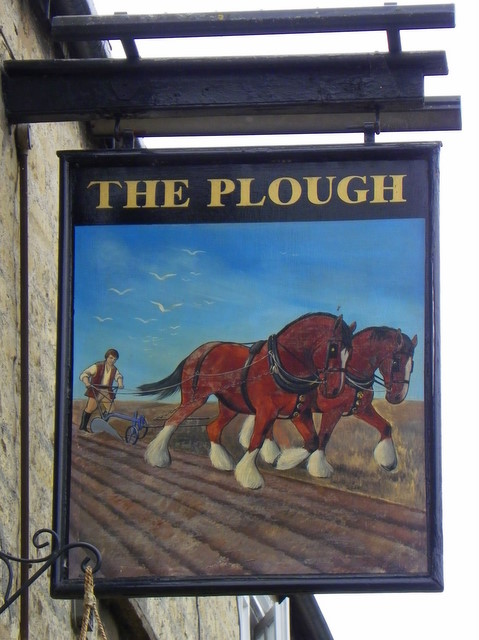 Sign for the Plough, Greetham