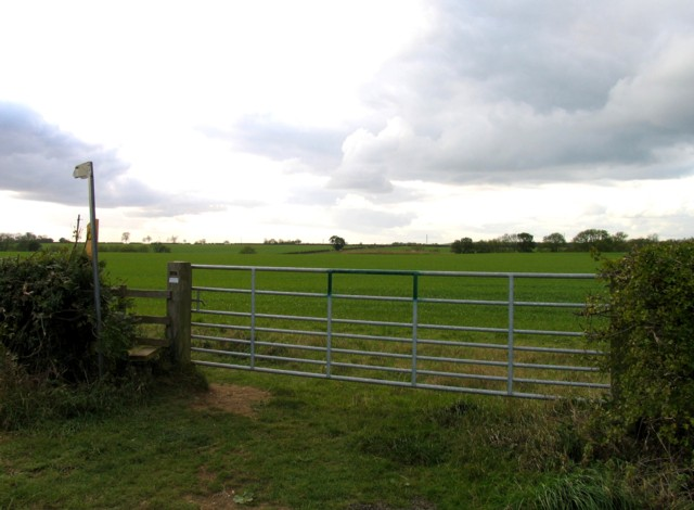 Footpath to Asfordby off Welby Lane