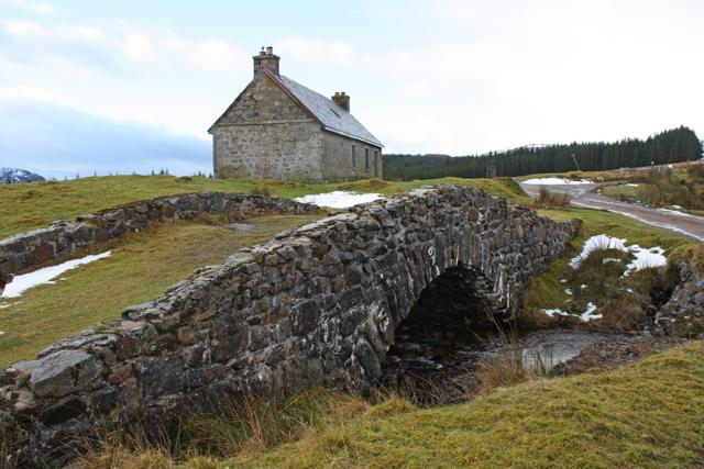 General Wade's bridge at Melgarve