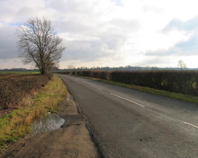 Oakham Road towards Langham