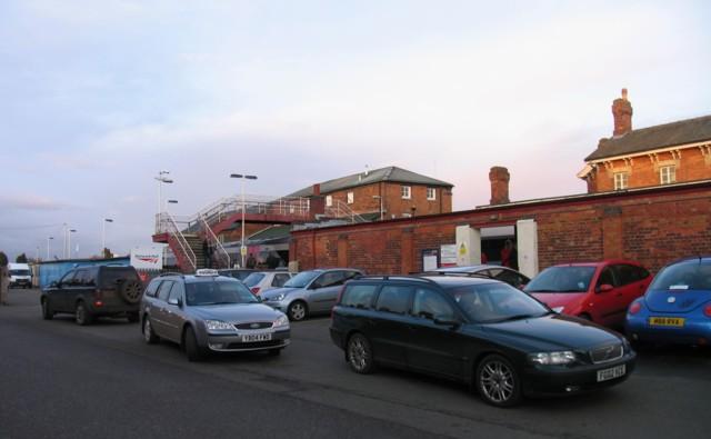 Oakham Station car park