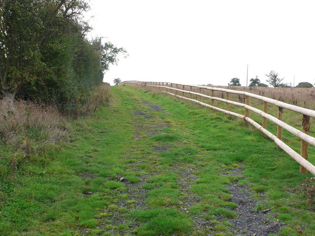 Track to Highland House