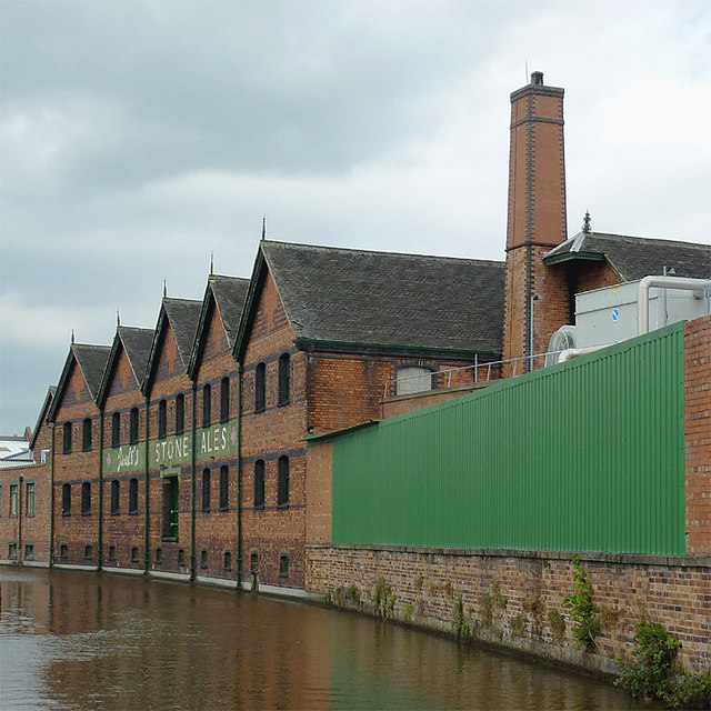 Joule's Building at Stone, Staffordshire