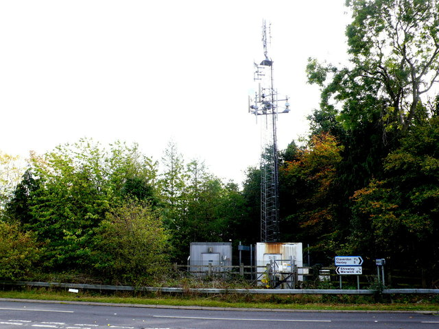 Communications Mast at Colley Irons