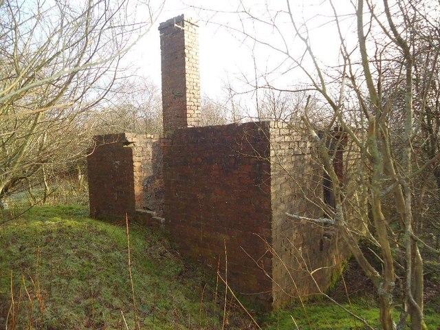 Arden Moss, colliery ruins