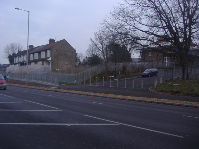 Junction of Pevensey Road and the North Circular Road