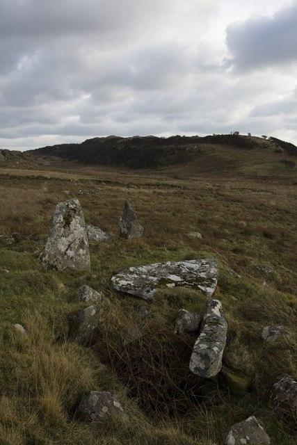 Chambered Cairn northeast of Ardbeg, Islay