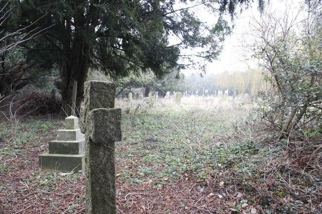 Graves in the corner