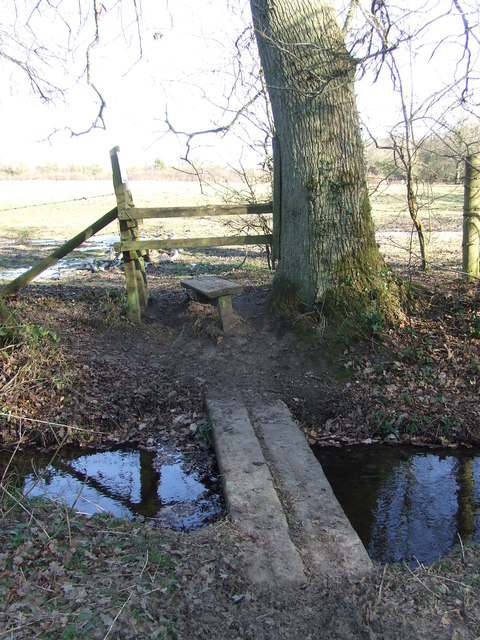 Footbridge And Stile