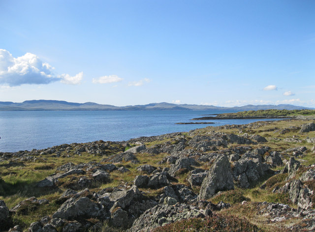 Rubha na Cille and the Sound of Jura