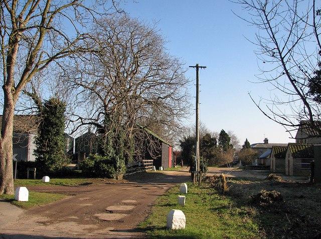 Stapleford: at Bury Farm