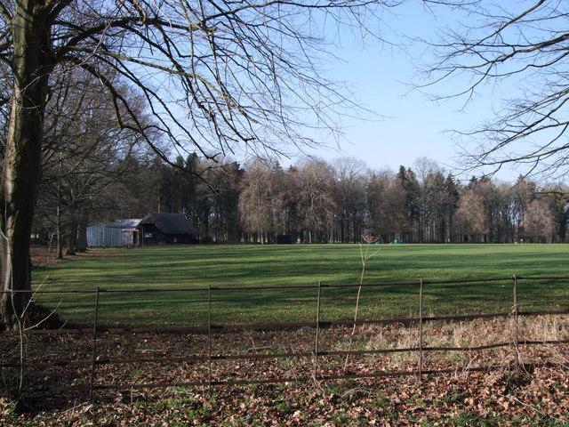 Buscot Park Cricket Club ground and pavilion