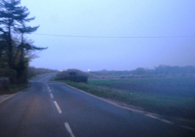 Darkness falling on Bullockstone Rd