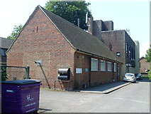 SU3521 : Romsey Telephone Exchange, Hants by David Hillas