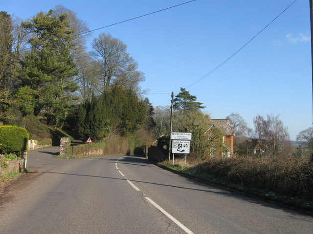 Entrance to Wiveliscombe