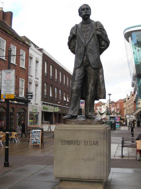Statue of Sir Edward Elgar