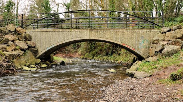 Footbridge, Whiteabbey (2)