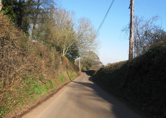 Road to North Petherton
