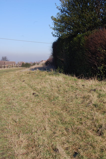 Path adjacent to Upperthorpe Road