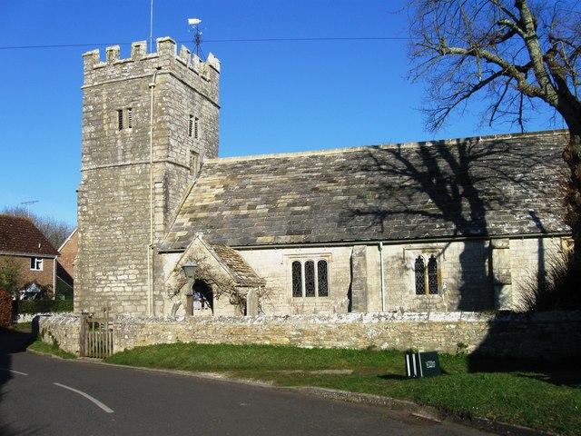 St Andrews Church, West Stafford