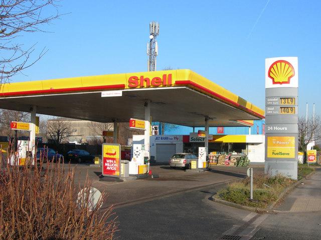 Petrol Station on Winwick Road