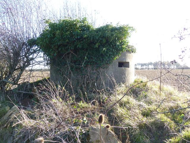 Concrete pillbox