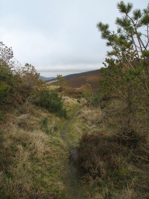 Path, Balkello Hill
