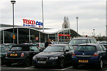 TL3763 : Tesco Extra, Bar Hill by David Lally