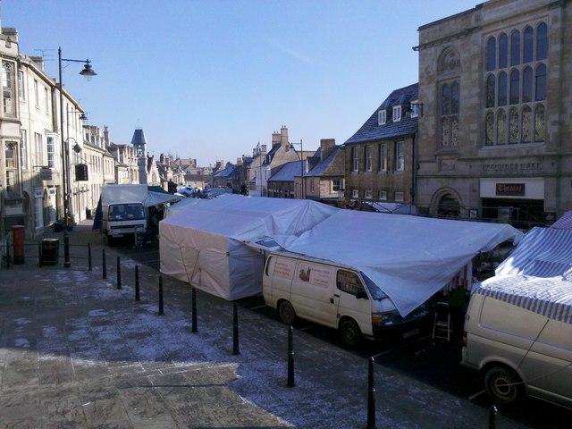 Market day, Stamford