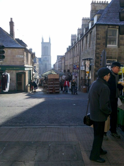 Market day in Stamford