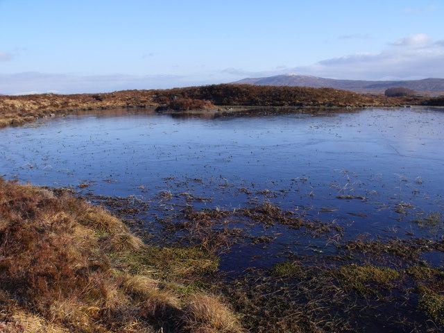 Lochan between Lochan Beinn Chaorach and Loch Ba