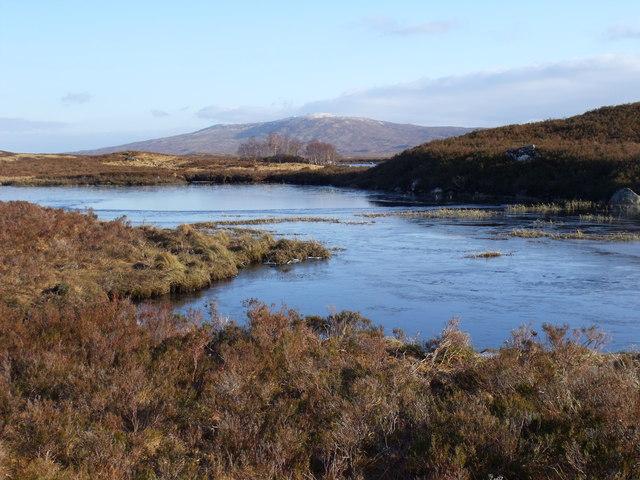 Minor lochan close to the west shore of Loch Ba