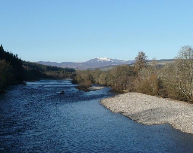 The River Tummel at Ballinluig