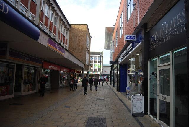 Shopping street, Crawley