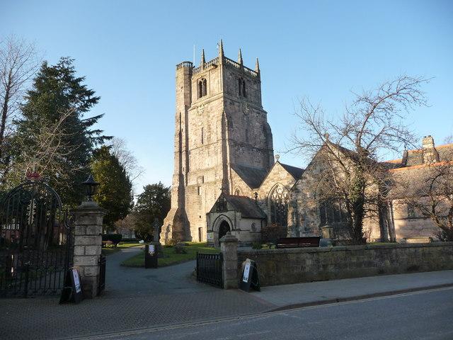 St. Oswald's parish church, Oswestry