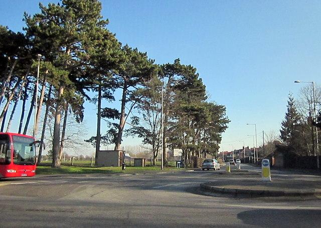 Worcester A38, Bilford Road Island