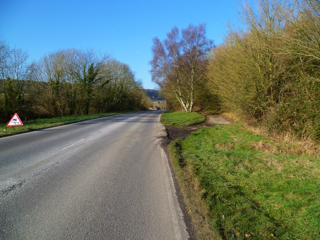 Layby on the B2141