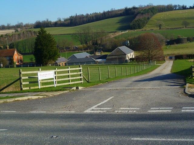 Preston Farm south of West Dean